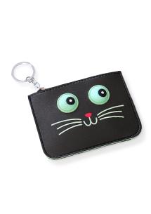 動物票卡夾零錢包