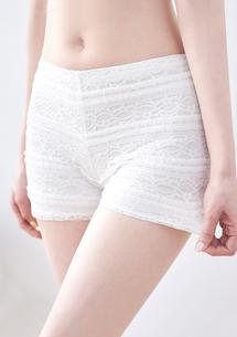 甜美蕾絲安全褲
