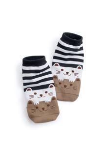 貓咪涼感短襪