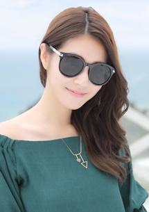 圓框太陽眼鏡