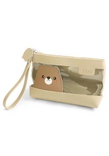 動物化妝收納包