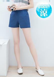 涼感口袋短褲
