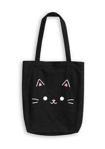 貓咪帆布肩揹包