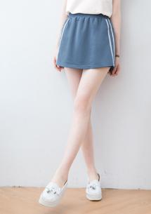 細毛圈褲裙