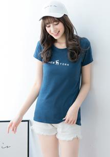 印花精梳棉T恤