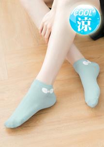 蝴蝶結涼感短襪