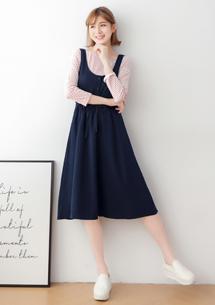 兩件式背心裙洋裝
