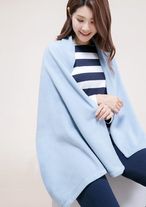 Fleece輕量保暖居家毯