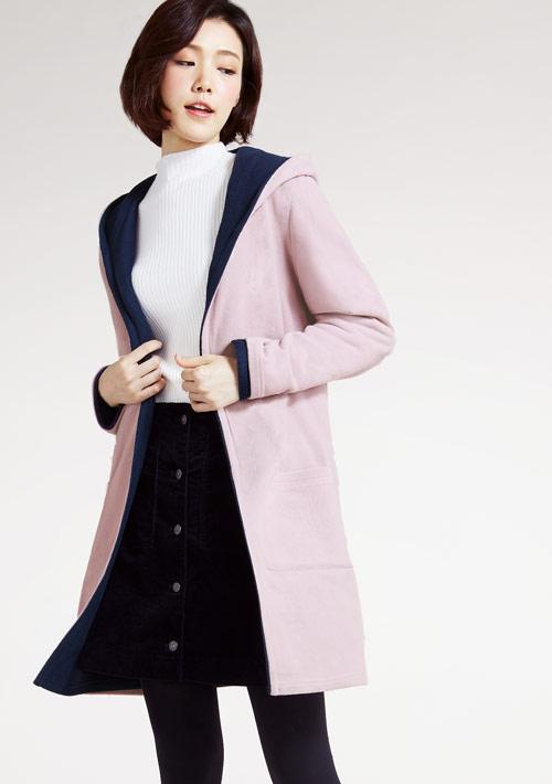 Fleece輕量保暖雙面穿外套