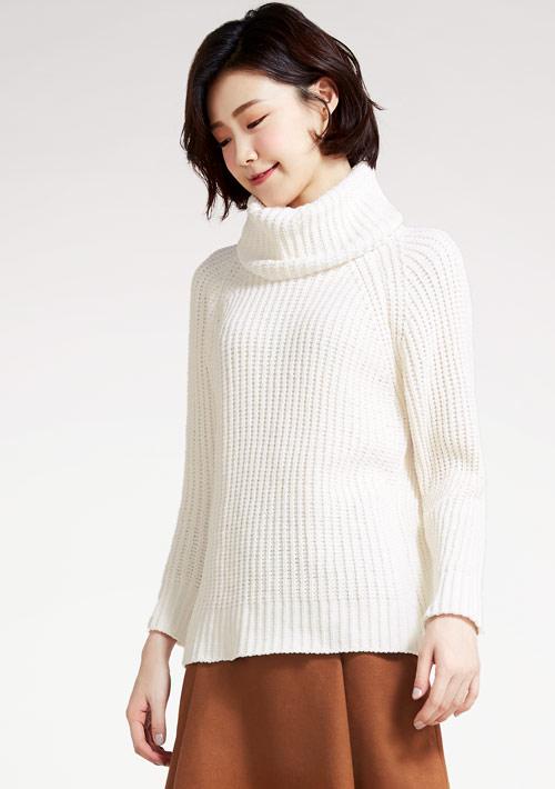 【限時$199】翻領針織毛衣