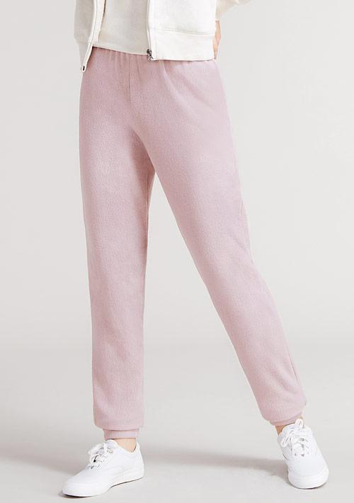 Fleece輕量保暖束口長褲