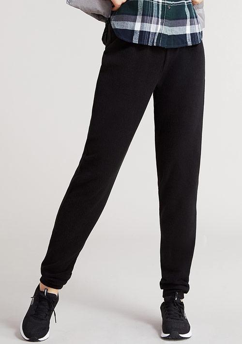 【激賞價$99】Fleece輕量保暖束口長褲