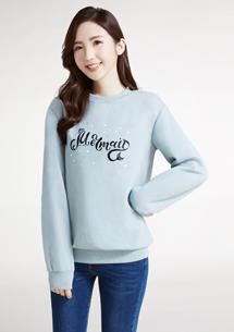 Mermaid印花刷毛T恤