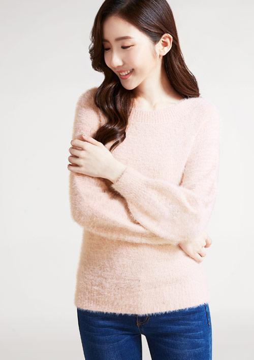 輕柔毛海針織衫
