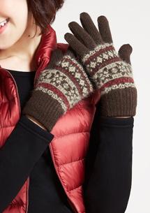 雪花加絨手套