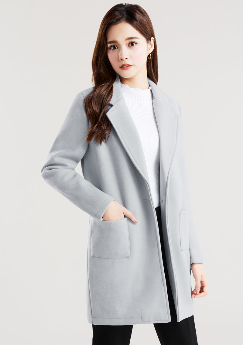 韓版毛呢外套