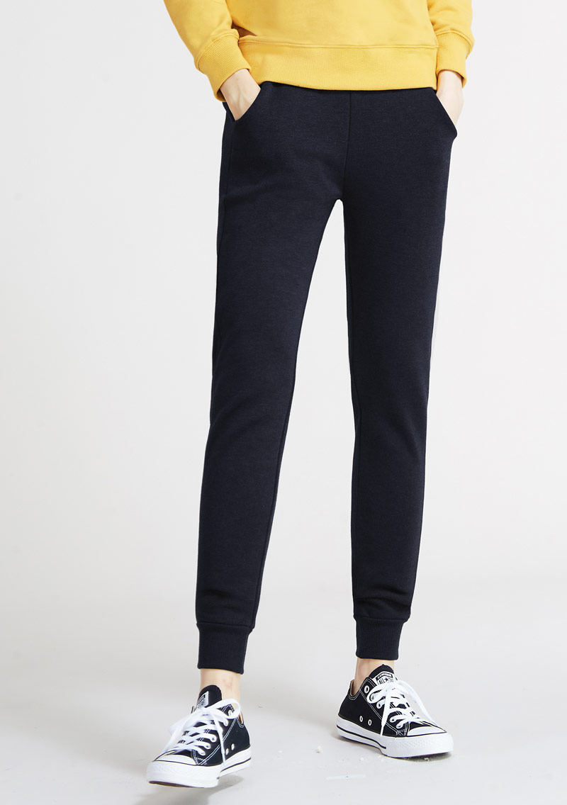 【限時$290】保暖加絨束口褲