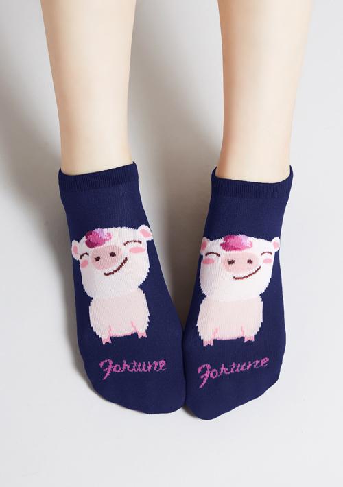 Fortune Piggy發財豬短襪