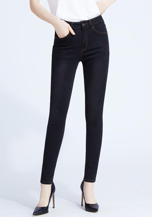 特級彈性窄管牛仔褲
