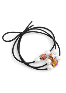 晶鑽珠飾髮圈