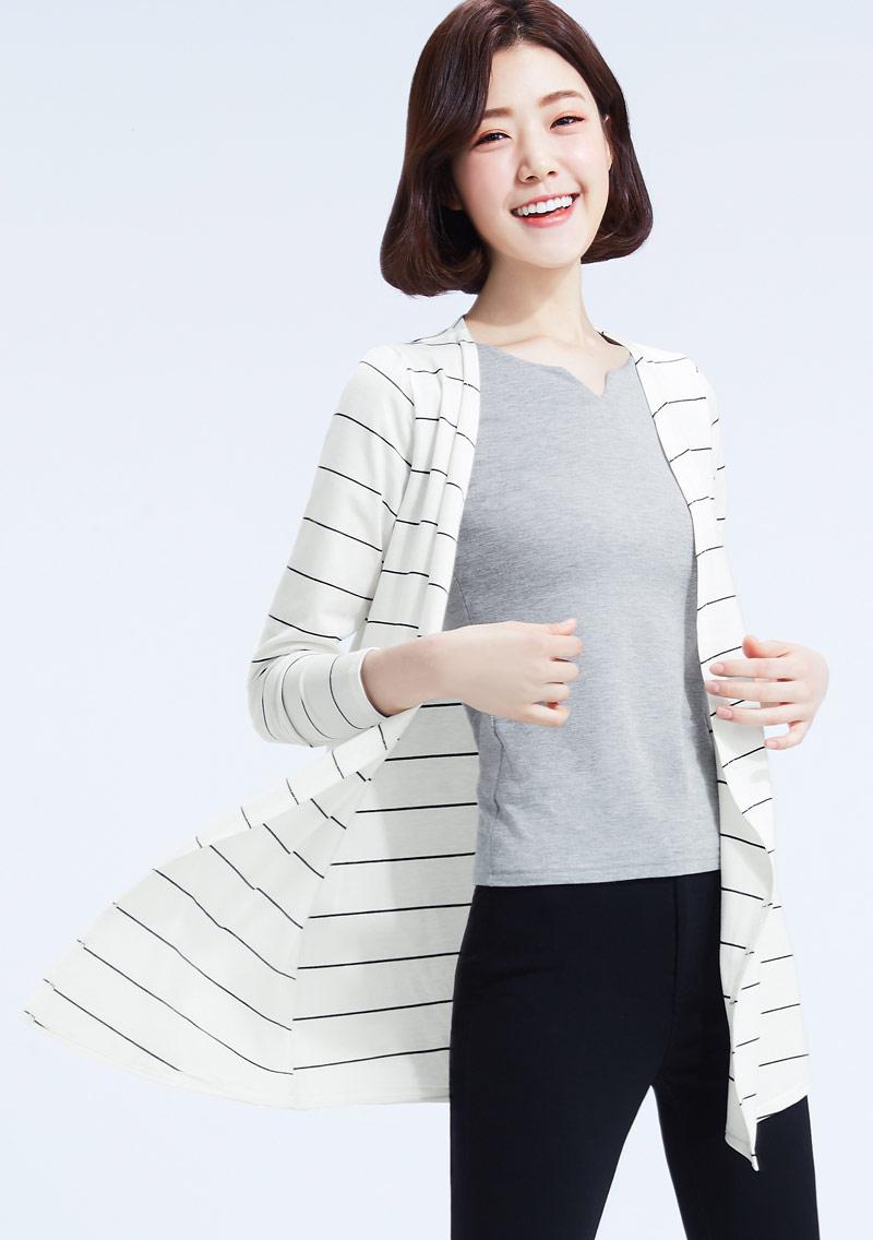 特級四面彈性條紋外套