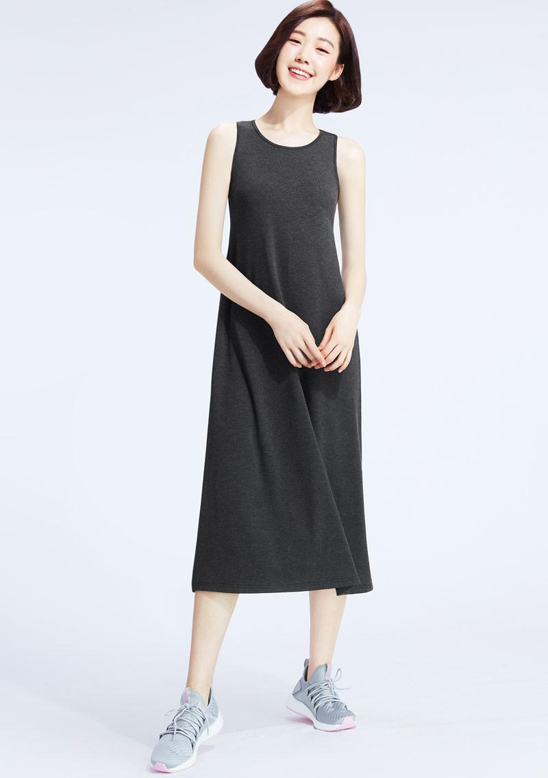 特級四面彈性背心長洋裝
