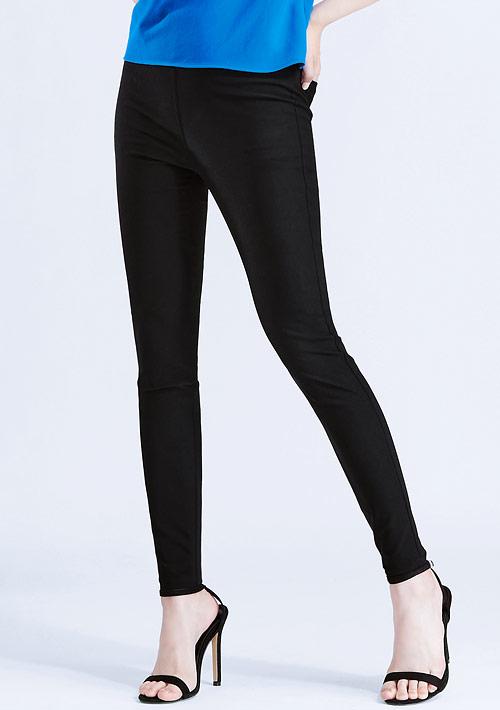 特級彈性涼感窄管褲