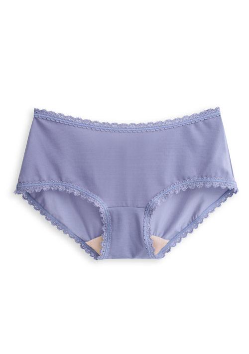 涼感蠶絲蛋白低腰內褲