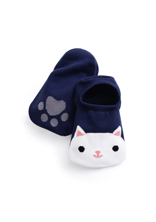 貓咪掌印涼感隱形襪