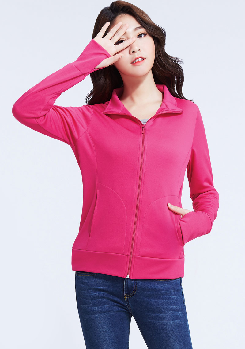 抗UV吸排立領防曬外套