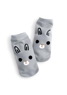 呆萌兔兔涼感短襪