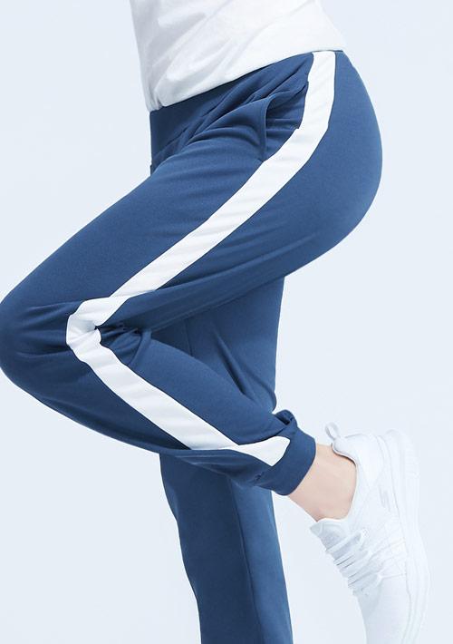 抗UV吸排配色束口長褲