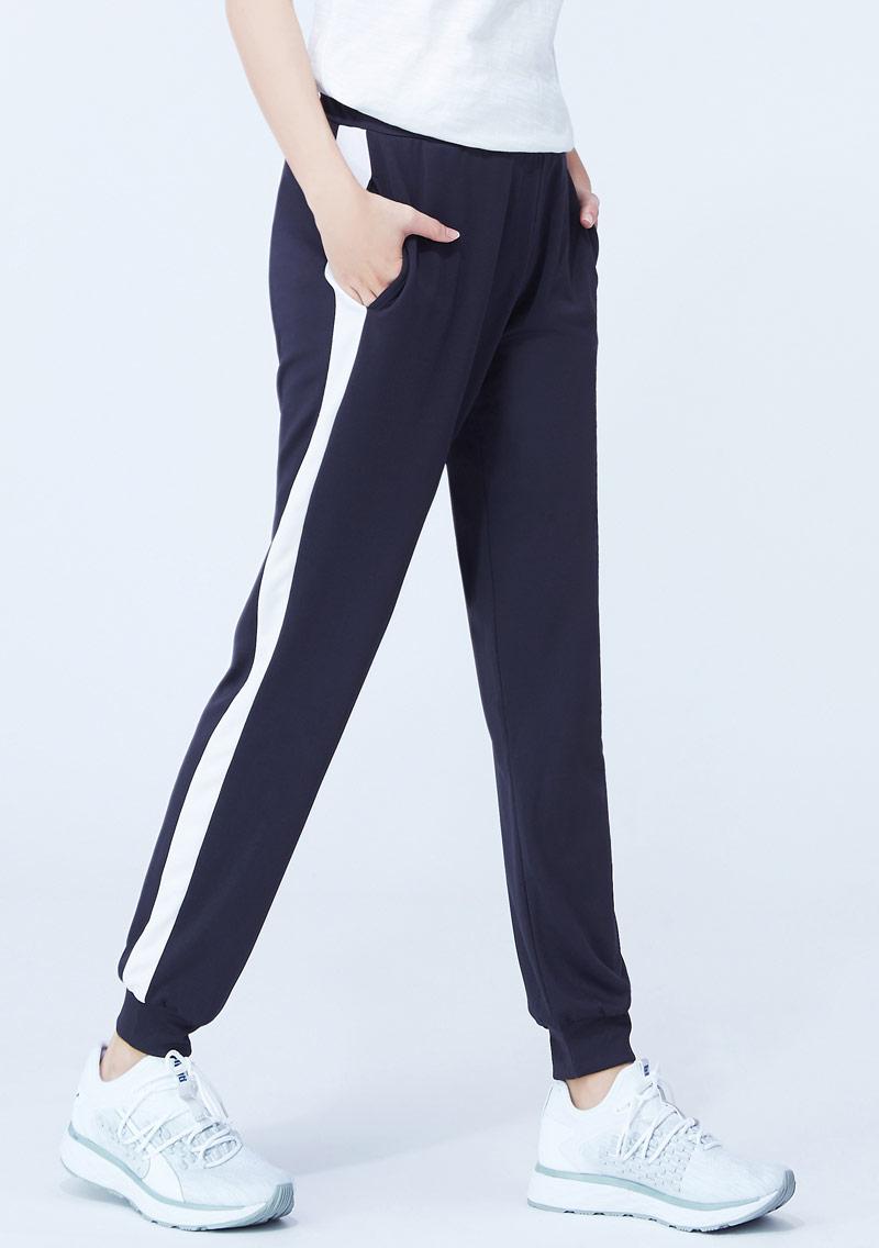【限時$230】抗UV吸排配色束口長褲