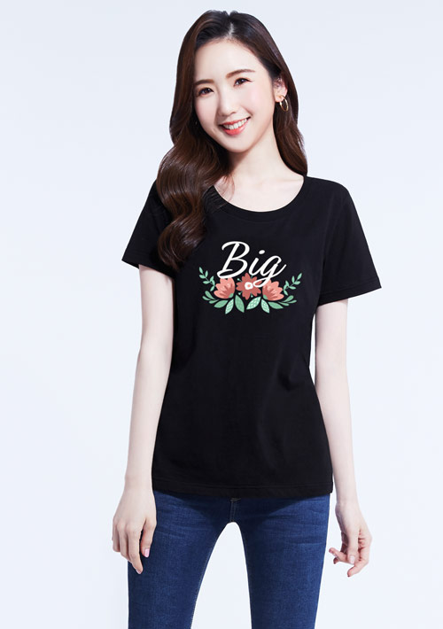 Big Love 純棉印花T恤