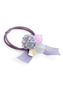 晶漾球球珠飾髮圈