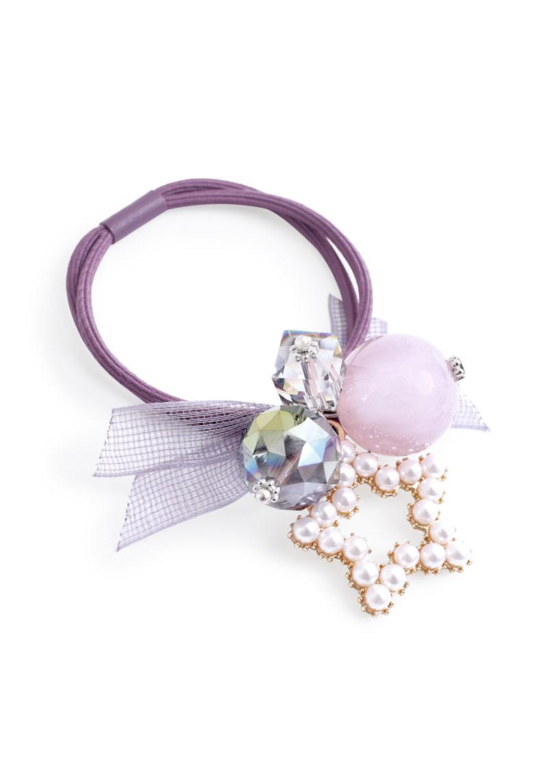 珍珠星星珠飾髮圈