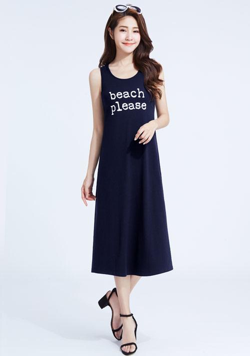 特級四面彈性海的呼喚背心洋裝