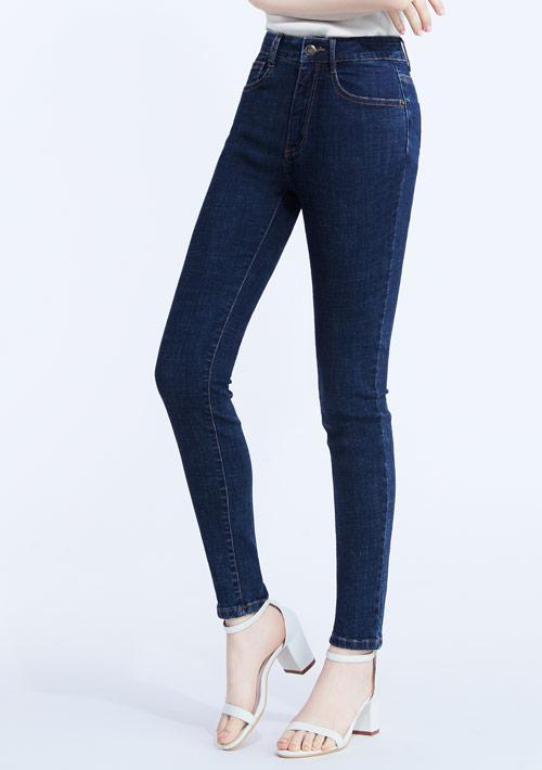 特級彈性高腰牛仔褲