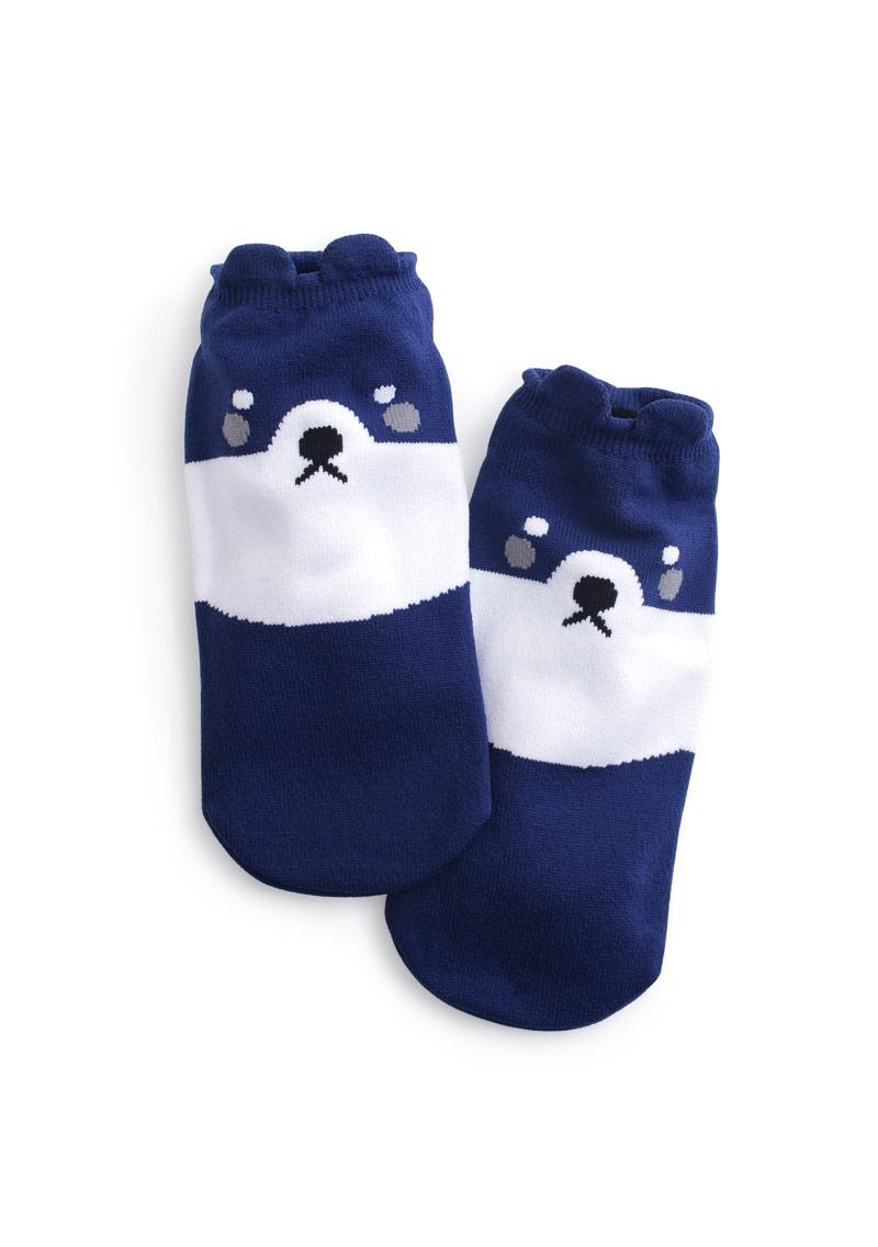 柴犬汪汪涼感短襪
