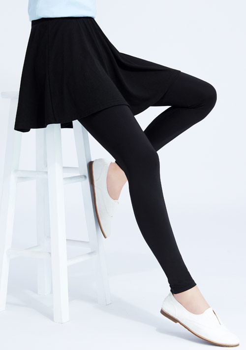 特級彈性吸排涼感圓裙內搭褲