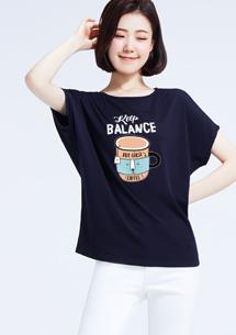 特級四面彈性寬版馬克杯印花T恤