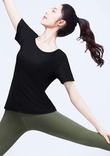 【限48HR$145】特級彈性吸排涼感圓領短袖T恤