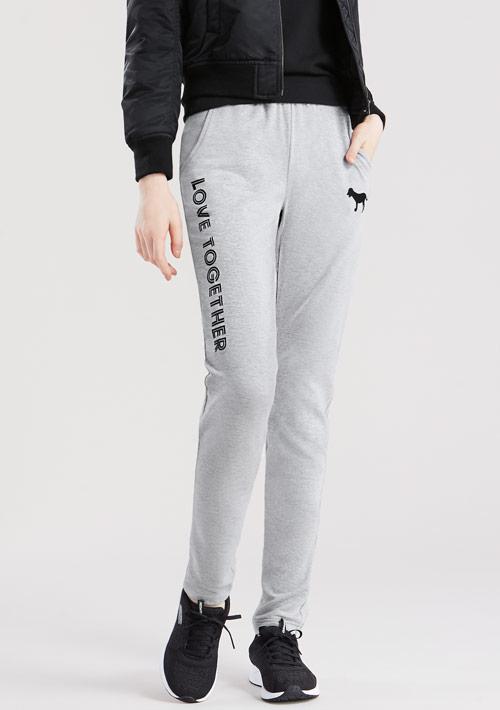 韓風休閒毛圈長褲