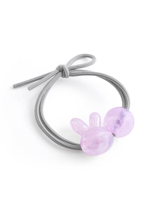 兔兔珠飾髮圈