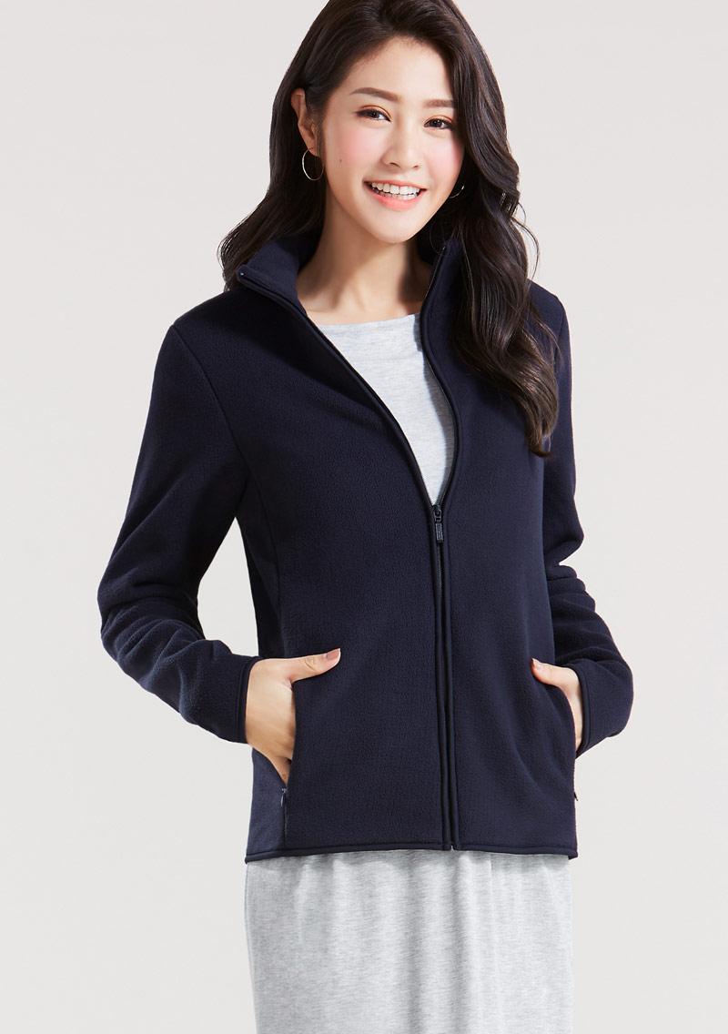 Fleece立領外套
