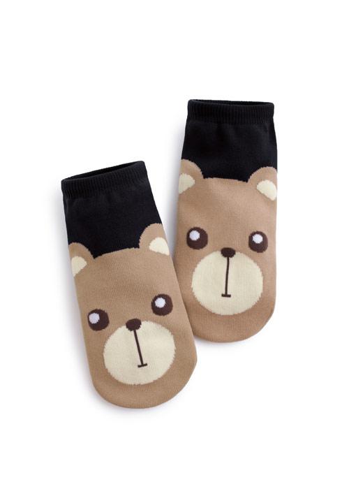 LUCKY熊熊幸運短襪