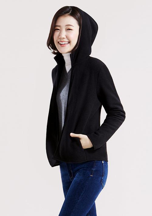 【激賞價$199】Fleece連帽外套