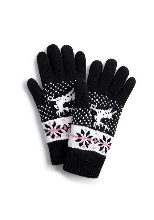 麋鹿毛絨手套