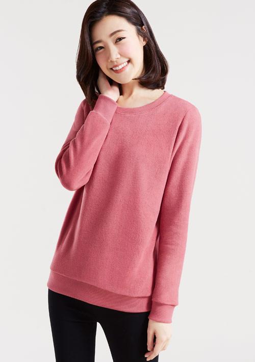 Fleece毛絨圓領衫