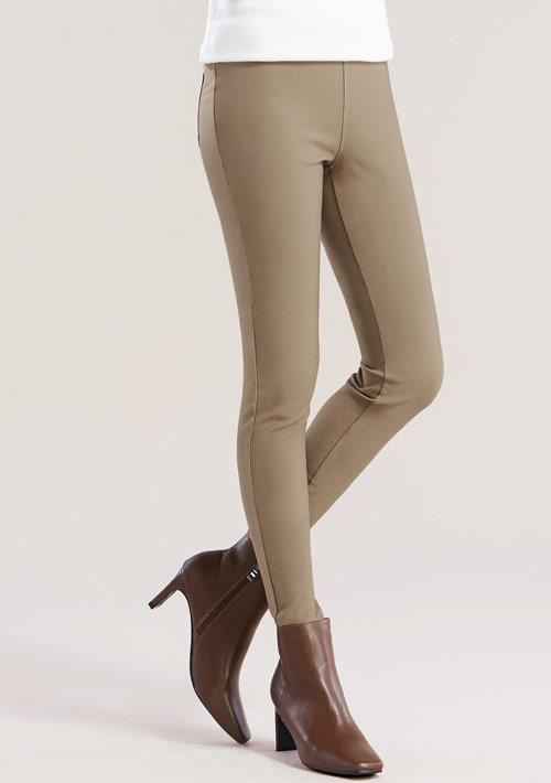 特級彈性顯瘦磨毛褲